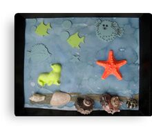 Under the Sea. Canvas Print