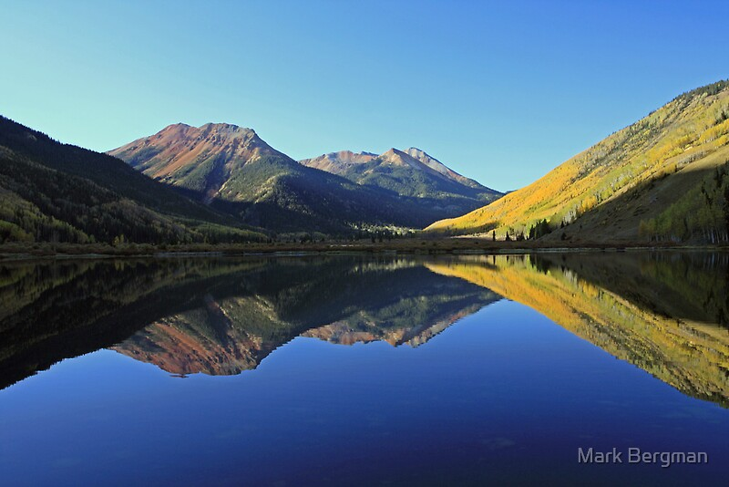 "Crystal Lake, Red Mountains, Ouray, Colorado"" by Mark Bergman ..."