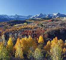 Dallas Divide, Sunrise, Ridgway, Colorado by Mark Bergman