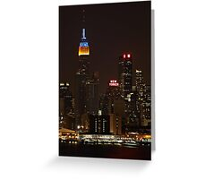 Empire & New Yorker Greeting Card