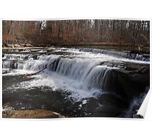 Cataract Falls- Upper Falls Area Poster