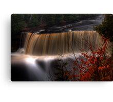 Taquamenon Falls Front Canvas Print