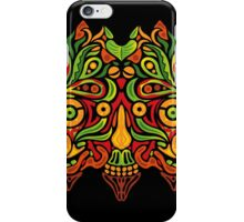 Psychedelic jungle demon iPhone Case/Skin