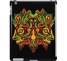 Psychedelic jungle demon iPad Case/Skin