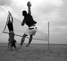 Beach Volleyball by Catarina Axelsson