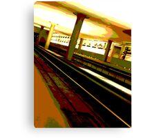 Virginia Square Metro Canvas Print