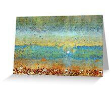 Incoming Waves Greeting Card