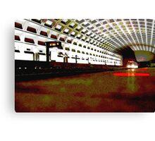 Virginia Square Metro II Canvas Print