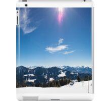 Panorama Alpwegkopf iPad Case/Skin