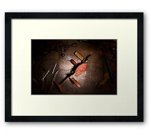 Furniture Maker Stills No. 4 Framed Print