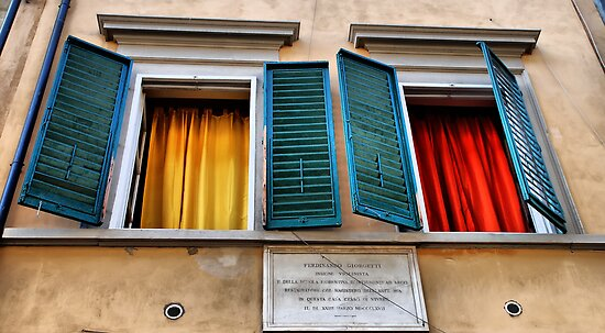 Colorful windows by andreisky