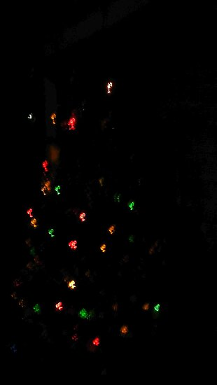 Xmas elf music notes lights  by mandyemblow