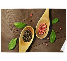 Spices and Flavorings Poster