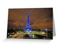 Xmas in Paris Greeting Card