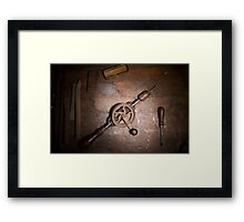 Furniture Maker Stills No. 12 Framed Print