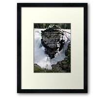 Rock In A Hard Place Framed Print