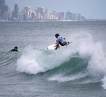 Getting Air - Burleigh Heads - Australia  by Anthony Wilson