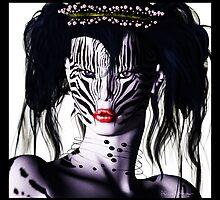 Zeeebra by Alicia Hollinger