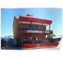 The Ettamogga Pub in Cunderdin Poster
