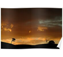 Pyrenees Sunset Poster