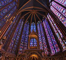 Sainte Chapelle, Paris by Ward McNeill