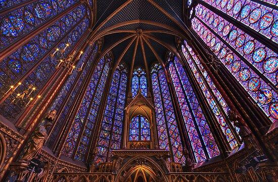 Sainte Chapelle, Paris by Ward McNeill