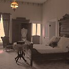 Bedroom in the Magoffan House by Susan Russell