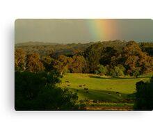 Late Light, Otway Farmlands Canvas Print