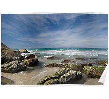 Beach Scene - Burleigh Heads - Australia Poster