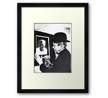 Magritte and Me Again. Framed Print
