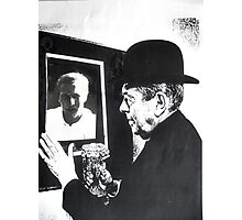 Magritte and Me Again. Photographic Print