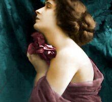 vintage lady 5 by cynthiab