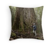 Old Growth Giant. Throw Pillow