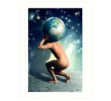 XXI. The World Art Print