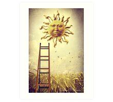 XIX. The Sun Art Print