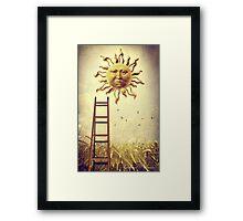 XIX. The Sun Framed Print