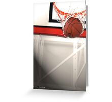 Buzzer Beater Greeting Card