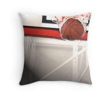 Buzzer Beater Throw Pillow