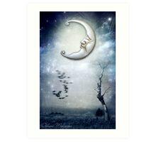XVIII. The Moon Art Print