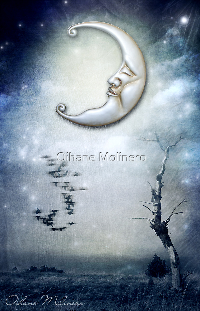 XVIII. The Moon by Oihane Molinero