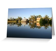 Murray River Dreaming - Psych Pumps Greeting Card
