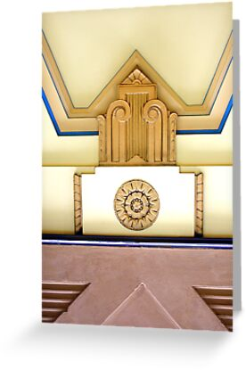 art deco ceiling by Christopher Biggs