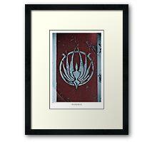 PHOENIX [Battlestar Galactica] Framed Print
