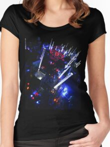 Electri-City 2 Women's Fitted Scoop T-Shirt