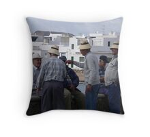Hat Party Throw Pillow