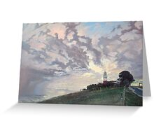 Drama at George Town Lighthouse Greeting Card