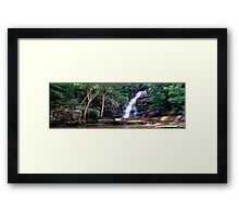 Somersby Falls, NSW Framed Print