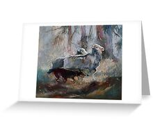 Kelpie Sheep Herder Greeting Card