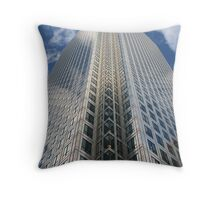 Canary Wharf Throw Pillow