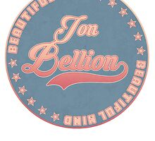 Retro Jon Bellion Stamp (Transparent Edition) by gaumerdesign